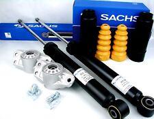 Stossdämpfer Sachs 2x 311346 + Schutzkappen 900202 + Domlager VW Skoda hinten