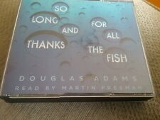 So Long, and Thanks for All the Fish by Douglas Adams (CD-Audio, 2003)very good