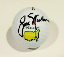 Jack Nicklaus Signed Autographed MASTERS logo PGA Star Golf Ball JSA
