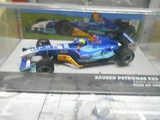 F1 SAUBER Petronas Ferrari C23 2004 #12 Massa Italy Red Bull IXO Altaya SP 1:43