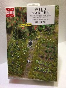 Kit Jardin Wildgarten Allotment BUSCH HO 1223 NEUF