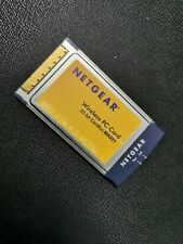 NETGEAR Wireless PC-Card 32 Bit PCMCIA Modell MA521, 54 Mbps, 2,4 GHz