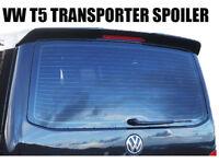 FITS VW T5 TRANSPORTER REAR TAILGATE SPOILER  SPORTLINE STYLE PRIMER -ANY COLOUR