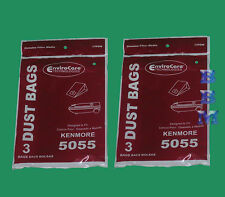 6 Kenmore 5055 50557 50558 C Q Panasonic C-5 MC-V150M C-19 MC-V295H Vacuum Bag
