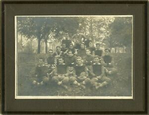 Early 1900's Allentown Lehigh County Pennsylvania Football team in great shape