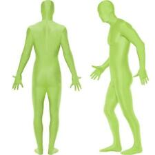 BODY SUIT SKIN FANCY DRESS COSTUME STAG OUTFIT RED BLACK BLUE GREEN ORANGE GOLD