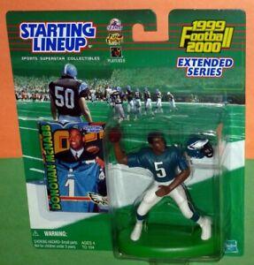 1999 DONOVAN MCNABB Philadelphia Eagles Rookie NM+ * 0 s/h* sole Starting Lineup