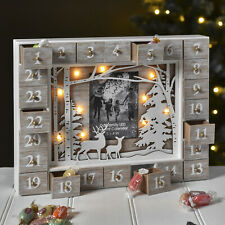Our Family LED Advent Calendar With LED Christmas Gift decorations Heart