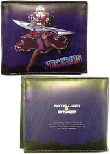Freezing Purple Bifold Wallet Anime Manga NEW