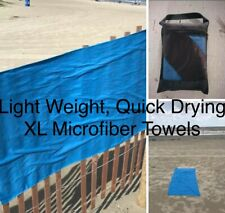 Oversized-sized XL MICROFIBER towel! Perfect for Beach, Pool, Lake Yoga or Gym!