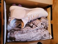Under Armour Harper 4 Low ST Baseball Cleats (Rubber/Metal) - White Size 11.5