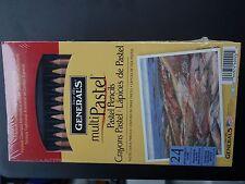 General's Multipastel Pastel Pencils 24