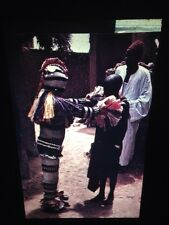 Senufo Funerary Figures (Tyekpa)- Ivory Coast African Tribal Art 35mm Slide