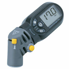 Topeak TSG-02 SmartGauge D2 / Bike Dual-Valve 250psi Digital Tire Pressure Gauge