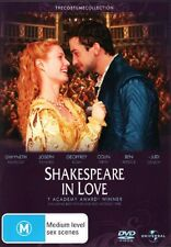 Shakespeare In Love DVD