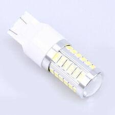 White 7443 7440 33SMD LED Brake Indicator Light Bulb Flashing Tail Lamp DC 12V