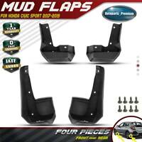 """4x Splash Guards Mud Flaps Mudguards for Honda Civic 2017-2019 """" Si """" Model Only"""