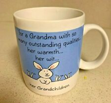 Coffee Mug Cup For a Grandma her Warmth with her Grandchildren Bunny Cookies