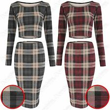 Unbranded Polyester Check Fitted Tops & Shirts for Women