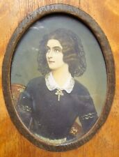 Miniature Portrait of Lola Montez- Mistress of Ludwig I of Bavaria.