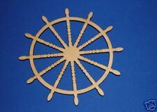 SHIP WHEEL LaserWoody Unfinished Wood Shapes 1SW1074C