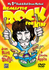 Carmine Appice Realistic Rock For Kids New Drum Dvd