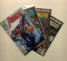 The Avengers Mar 2 and Mar 2 Brave Old World Apr 3 Jun 5 lot of 4 Marvel Comics