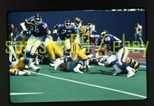 1990 Robert Delpino #39 - Los Angeles Rams - NFL Football 35mm Slide
