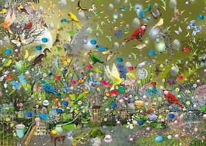 Schmidt Ilona Reny A Parrot Jungle  Jigsaw Puzzle (1000 Pieces)