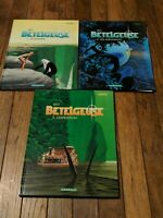 French Graphic Novels Comics - Betelgeuse - Leo 1 - 3 Lot - Dargaud Hardcovers