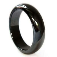 Non-Magnetic Hematite Finger Ring 20mm Dia  Arthritic Pain & BP(J005-03)