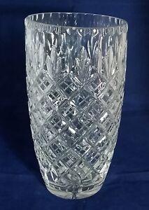 Beautiful Heavy Crystal Vase