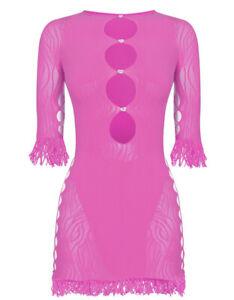 Poster Girl One Size Miranda Dress In Pink READ DESCRIPTION