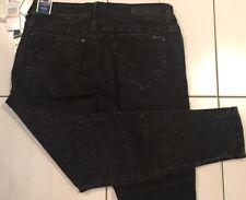 Womens Seven 7 Skinny Black Legging Jeans Sz 8  31 / 33 W  29 L Stretch  NWT