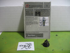 Axis & Allies Set 2 II Panzergrenadier with card 31/45