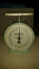 VINTAGE WAY RITE HOUSEHOLD SCALE EXCELLENT WORKING CONDITION