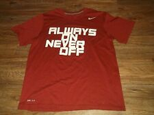 NIKE Dri Fit 2013 National Cup U.S. Club Soccer Always On Never Off T Shirt Sz M