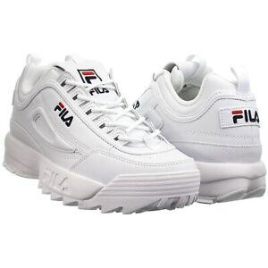Fila Disruptor Low weiß Herren oder Damen Low-Top Kult-Schuhe Lifestyle Sneakers