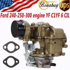 "Top RSC-300A 11/16"" Carburetor Replacement Fit 75-82 Ford 240-250-300 C1YF 6 CIL"