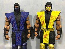 (Special edition) Storm Collectables Mortal Kombat Scorpion + Sub Zero set 1/12