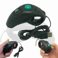 Finger Using Optical Mini Portable Trackball Wired USB Handheld Mouse Mice