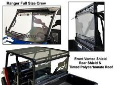 Polaris Ranger Full Size Crew Roof/Shield/Cab Back Combo