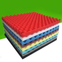 50x50x3cm Soundproof Sponge Absorption Sound Pyramid Studio Foam Board Wall Tile