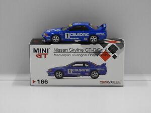 1:64 Nissan Skyline GT-R (R32) Group A #1 Calsonic 1991 Japan Touring Car Champi
