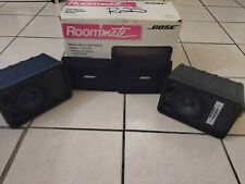 BOSE ROOMMATE Dual Powered Speakers Stereo system vintage w/original box