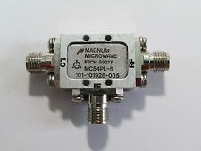Used Good Magnum Microwave Mc54Pl-5 3.5-12Ghz Mixer #C2Bj