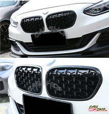 For BMW F52 118i 120i 17-20 Black Diamond Car Front Kidney Grille Replacement