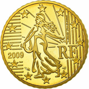 [#753906] France, 50 Euro Cent, 2009, Proof, FDC, Laiton, KM:1412