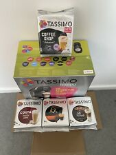 TASSIMO by Bosch Happy Pod Capsule Coffee Machine Black With Pods Bundle