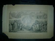 LAM GODS d'après VAN EYCK (1432) dessin encre C KREUZBERGER - agneau mystique